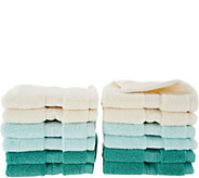 Northern Nights 600gsm 100Cotton Set of 12 Wash Cloths - H205073