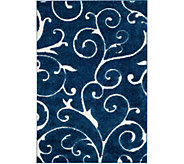 Safavieh 4x6 Scroll Design Florida Shag Area Rug - H209873