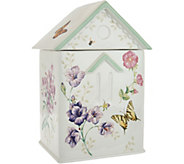 Lenox Butterfly Meadow Limited Edition Cookie Jar - H210773