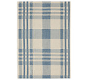 Safavieh 4 x 57 Plaid Indoor/Outdoor Rug - H283073