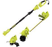 Sun Joe Lawn and Garden Multi-Tool System - H293273