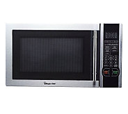 Magic Chef 1.1 Cubic Ft 1,000 Watt Stainless Microwave - H358973