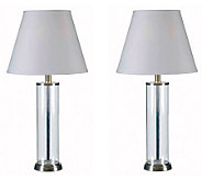 Kenroy Home Echo Set of 2 Fillable Table Lamps - H359173