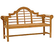 Elden 5 Outdoor Teak Lutyens Bench - H360973