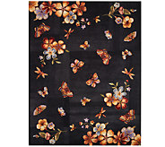Royal Palace Butterfly Radiance 73 x 93 Wool Rug - H202774
