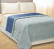 Coleman 400TC Extra Cozy Down Alt. Reversible FL/QN Blanket - H205174
