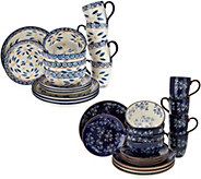 Temp-tations 16-pc. Old World Or Floral Lace Dinnerware Set - H208874