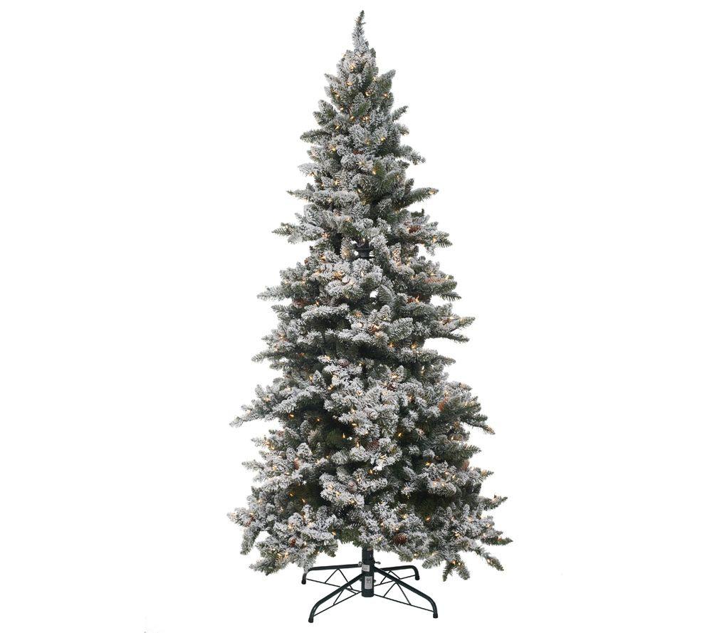 """""""As Is"""" Bethlehem Lights 7.5' Woodland Pine Christmas Tree"""