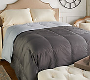 Northern Nights 400TC 600FP Reversible Queen Down Comforter - H212074
