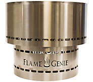 Flame Genie Inferno Fire Pit Stainless Steel - H294574