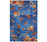 Royal Palace Butterfly Radiance 5 x 76 Wool Rug - H202775