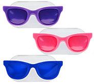 As Is Set/3 Readerest Magnetic Eyeglass Holders by Lori - H204175