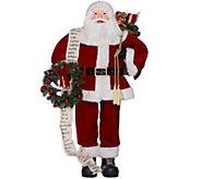 4-foot Oversized Santa Figure by Valerie - H208775