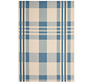 Safavieh 53 x 77 Plaid Indoor/Outdoor Rug - H283075