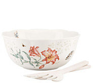 Lenox Salad Bowl with Servers - H288475