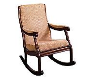 Liverpool Dark Oak Finish Rocking Chair - H359475