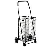 Whitmor Deluxe Rolling Utlity Cart Black - H367775