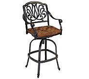 Home Styles Floral Blossom Swivel Stool with Cushion - H367875