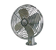 RoadPro(R) Heavy Duty Metal 2-Speed Fan - 12Volt - H70175