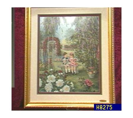 glynda turley secret garden iii framed print h8275