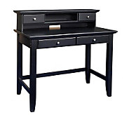Home Styles Bedford Student Desk/Hutch Combination - Ebony Fin - H155976