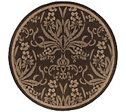 Couristan Recife Cottage Indoor/Outdoor 86Diam Round Rug - H175076