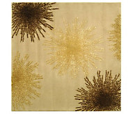 Soho 8 Square Abstract Handtufted Wool/ViscoseBlend Rug - H178576
