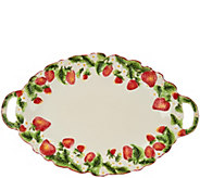 Temp-tations Figural Fruit 18 Platter - H207276