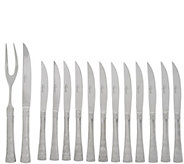 Temp-tations Old World 14-pc. Steak Knives & Carving Set - H207576