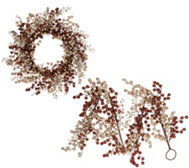 Glitter Berry Wreath or Garland by Valerie