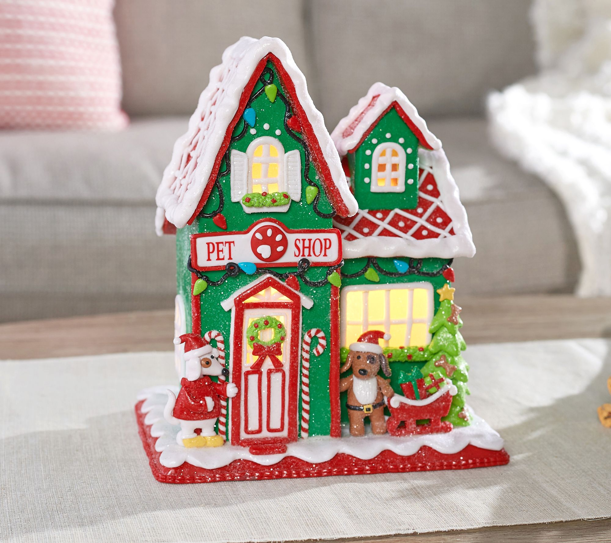 Outdoor Gingerbread House. Choice Of Illuminated 9