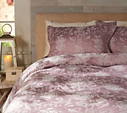 Casa Zeta-Jones Floral Jacquard Reversible TW Comforter Set - H213476