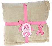 Berkshire Blanket Awareness VelvetLoft Throw - H291476