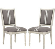 Buchanan Set of Two Gray Rect Side Chairs by Valerie - H291676