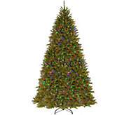 National Tree Company 10 Power Connect Lit Dunhill Fir Tree - H294376