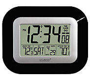 La Crosse Technology WS-8115U-B Atomic DigitalWall Clock - H356376