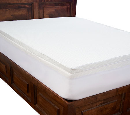 "PedicSolutions 4"" Double Layer Memory Foam FL Mattress Topper"