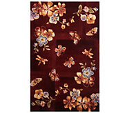 Royal Palace Butterfly Radiance 3 x 49 Wool Rug - H202777