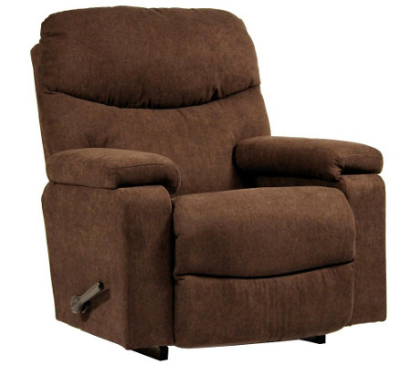 La Z Boy Cache Rocker Recliner With Arm Storage Amp Memory