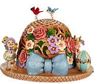 Jim Shore Heartwood Creek Lit Easter Bonnet Figurine - H213577