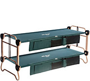 Disc-O-Bed Large Cam-O-Bunk with 2 Side Organizers - H289777