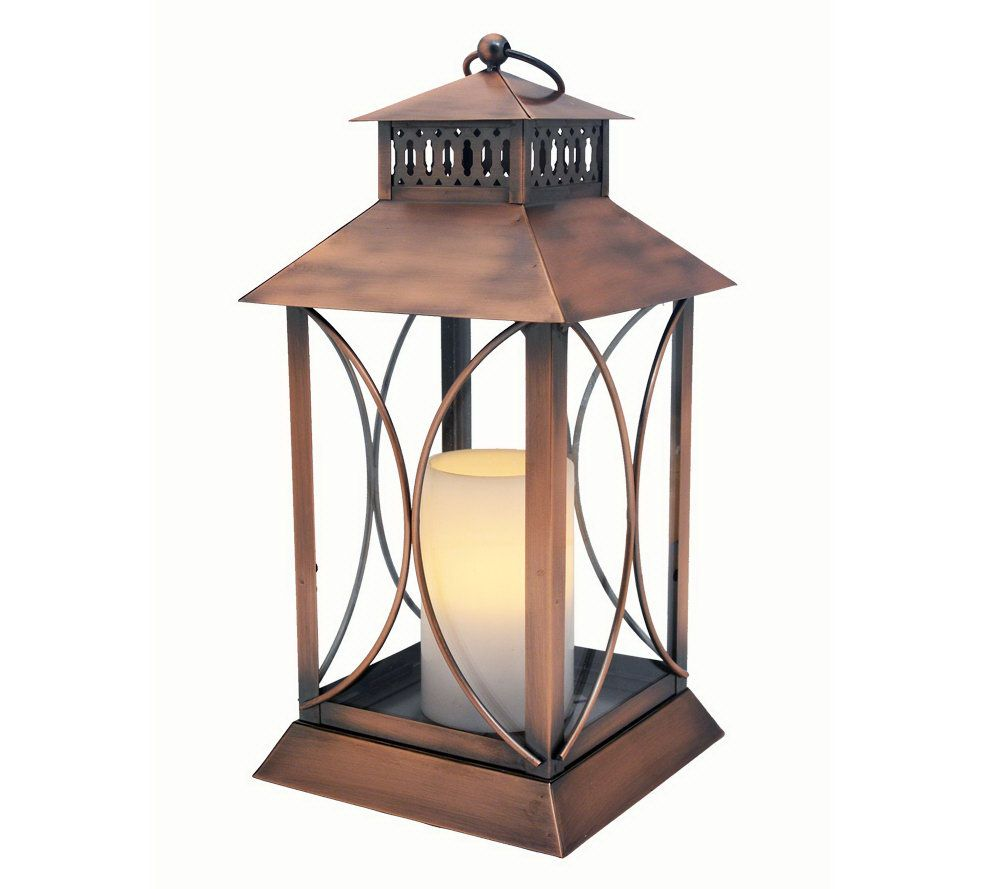 Home Reflections Indoor/Outdoor Flameless Candle Lantern - Page 1 ...