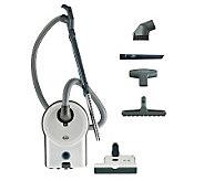 Sebo Airbelt D4 Vacuum Cleaner w/ ET-1 Power Head-Arctic White - H359377