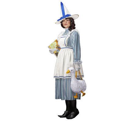Mother Goose Adult Plus Costume Qvc Com