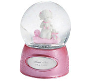 Things Remembered Praying Girl Water Globe - H186378