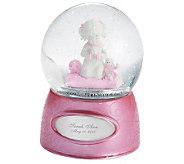 Things Remembered Praying Girl Water Globe - H186378