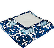 ED On Air Geo Print Velvetloft Throw by Ellen DeGeneres - H206178