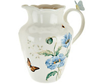 Lenox Butterfly Meadow Limited Edition Porcelain Pitcher - H208978