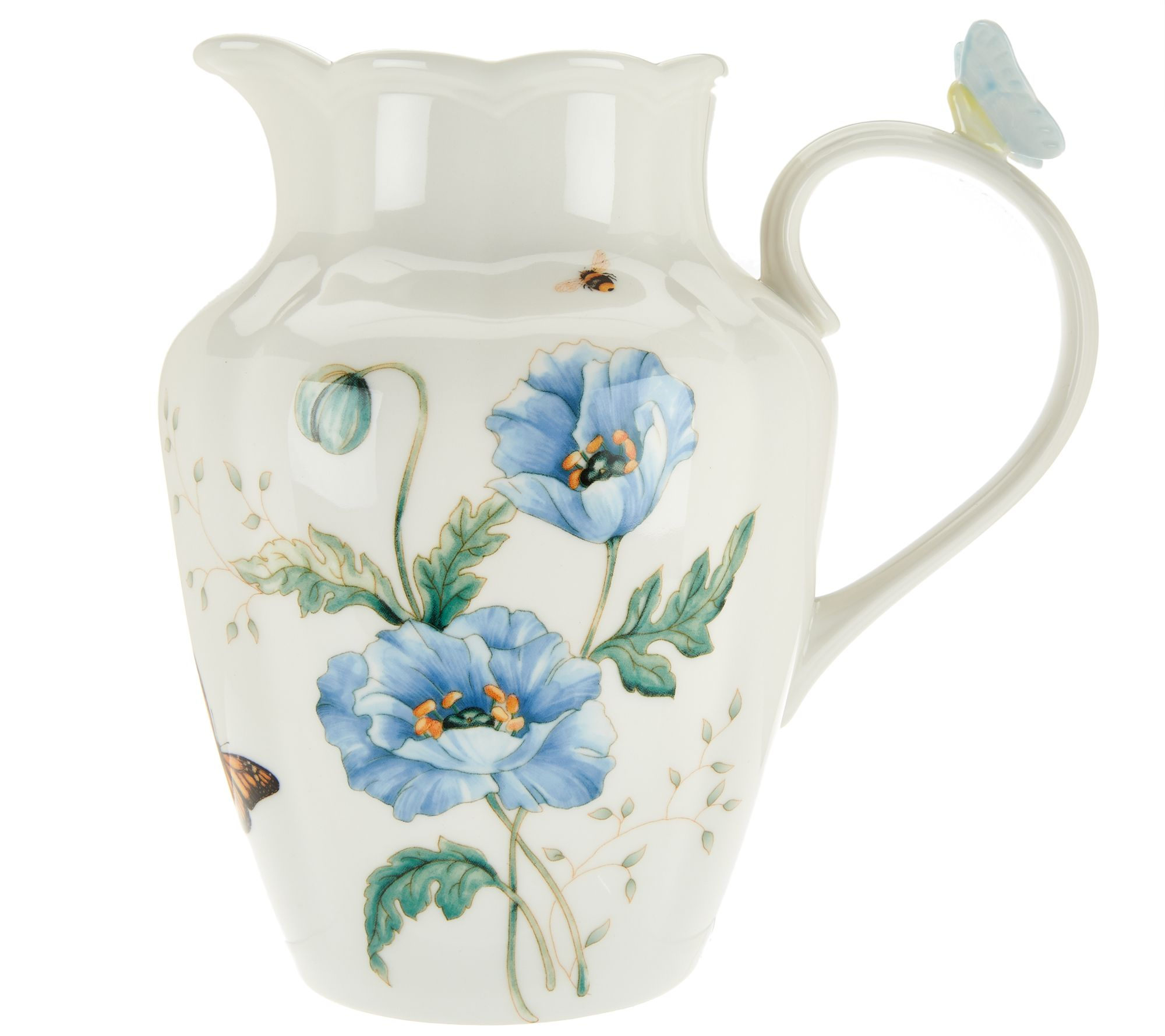 Lenox butterfly meadow limited edition porcelain pitcher page 1 lenox butterfly meadow limited edition porcelain pitcher page 1 qvc reviewsmspy