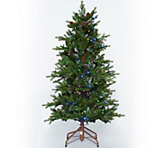 As Is ED On Air Santas Best 5 Rustic Spruce Tree by Ellen DeGeneres - H211078